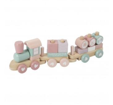 Pociąg Różowy - Little Dutch