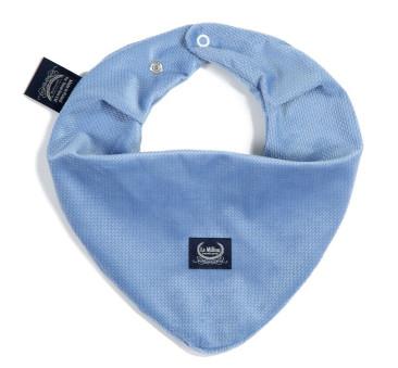 Mięciutka Apaszka - Dove Blue - La Millou - Velvet Collection