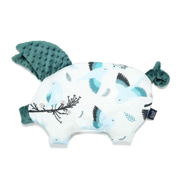 Podusia Sleepy Pig - Blue Birds - Deep Ocean - La Millou