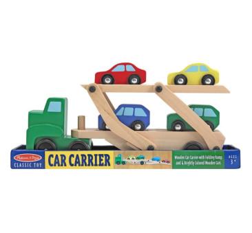 Drewniane Auto Laweta - Melissa & Doug - Montessori