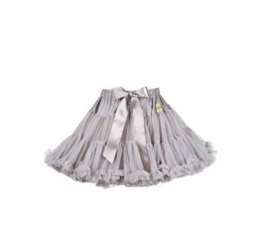 Spódniczka - Grafit S - 4-6 lat LaVashka - Ekskluzywna Tiulowa Party Luxury Skirt