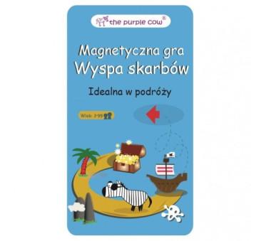 Podróżna gra magnetyczna The Purple Cow - Wyspa Skarbów