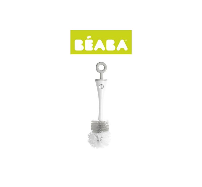 Szczoteczka do butelek i smoczków Grey - Beaba