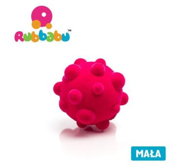 Mała sensoryczna piłka wirus - różowa - Rubbabu