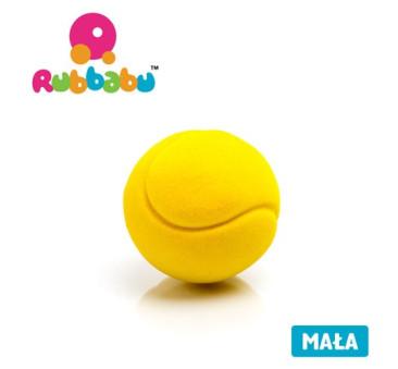 WYPRZEDAŻ Mała sensoryczna piłka tenisowa dla dzieci 1+ - żółta - Rubbabu