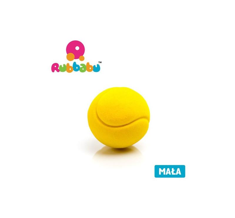 Mała sensoryczna piłka tenisowa - żółta - Rubbabu