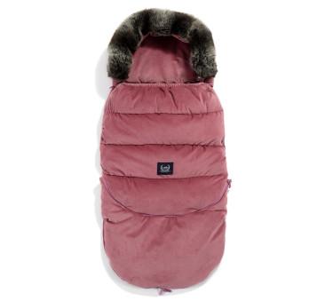 Śpiwór - Stroller Bag - Aspen Winterproof - Mulberry - La Millou - Velvet Collection