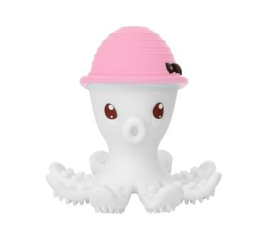 Gryzak Zabawka - Ośmiornica Pink - różowa - Mombella