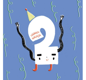 Kartka Urodzinowa - Happy Birthday 2 - Pieskot