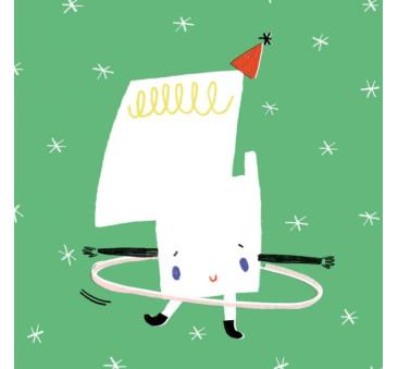 Kartka Urodzinowa - Happy Birthday 4 - Pieskot