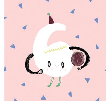 Kartka Urodzinowa - Happy Birthday 6 - Pieskot