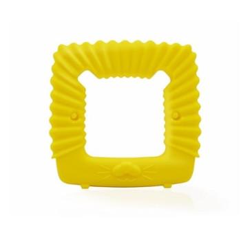 Gryzak Geometryczny Lew - Żółty - Mombella