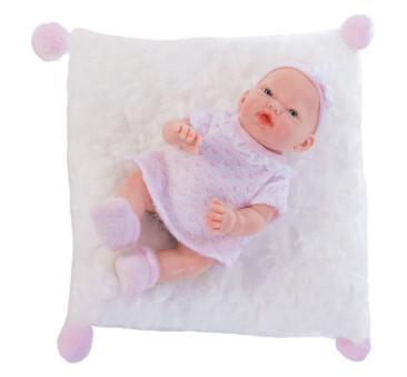 Mały słodki bobas na poduszce - Dziewczynka - Nines d'Onil