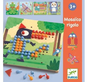 Rigolo Mozaika - Kolorowe Obrazki - Djeco