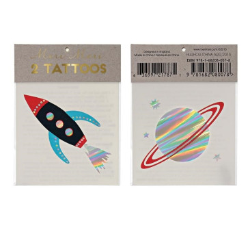 Tatuaże - Kosmos - Meri Meri