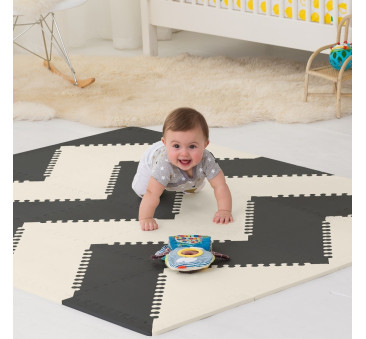 MATA PLAYSPOT BLACK/CREAM GEO - SKIP HOP