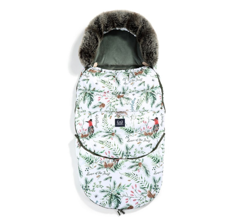 Śpiwór - Stroller Bag - Aspen Winterproof - Forest & Khaki - La Millou