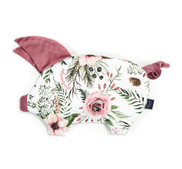 Podusia Sleepy Pig - Wild Blossom - Mullbery - La Millou - Velvet Collection