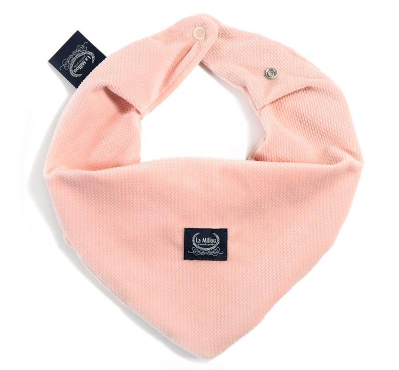 Mięciutka Apaszka - Powder Pink- La Millou - Velvet Collection