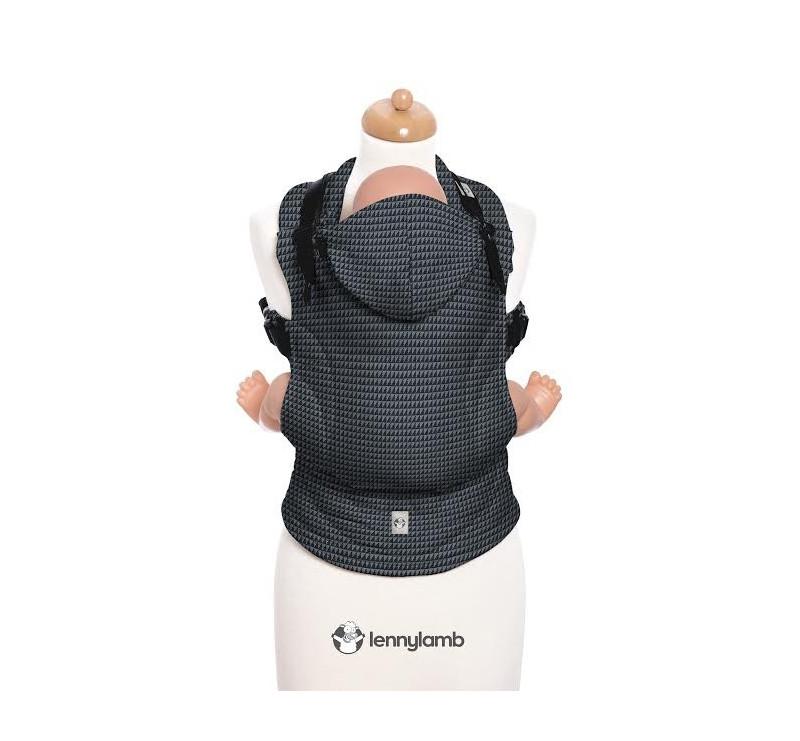 Moje drugie nosidełko ergonomiczne - GALAKSYT, splot tessera , Toddler size, Druga Generacja - LennyLamb