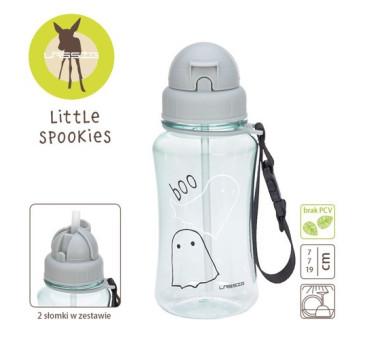 Bidon z zapasową słomką Little Spookies - Aqua - Lassig