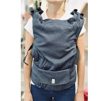 Nosidełko regulowane LennyUp splot satynowy 100% bawełna - Basic Line Jeans - LennyLamb