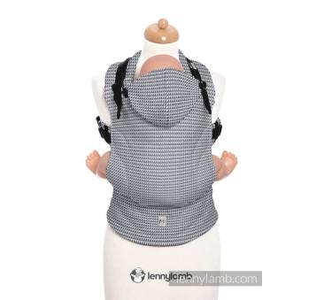 Moje pierwsze nosidełko ergonomiczne - SELENIT, splot tessera , Baby size, Druga Generacja - LennyLamb