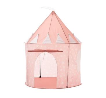 Kids Concept - Namiot w Gwiazdki - Pudrowy Róż - Pink - Różowy