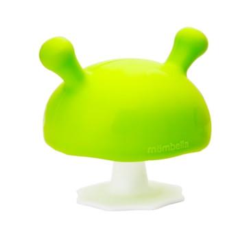 Gryzak Uspokajający Grzybek - Zielony - Mombella Mushroom