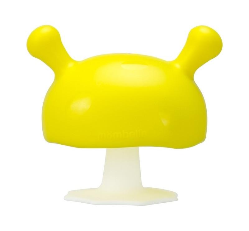 Gryzak Uspokajający Grzybek - Żółty - Mombella Mushroom