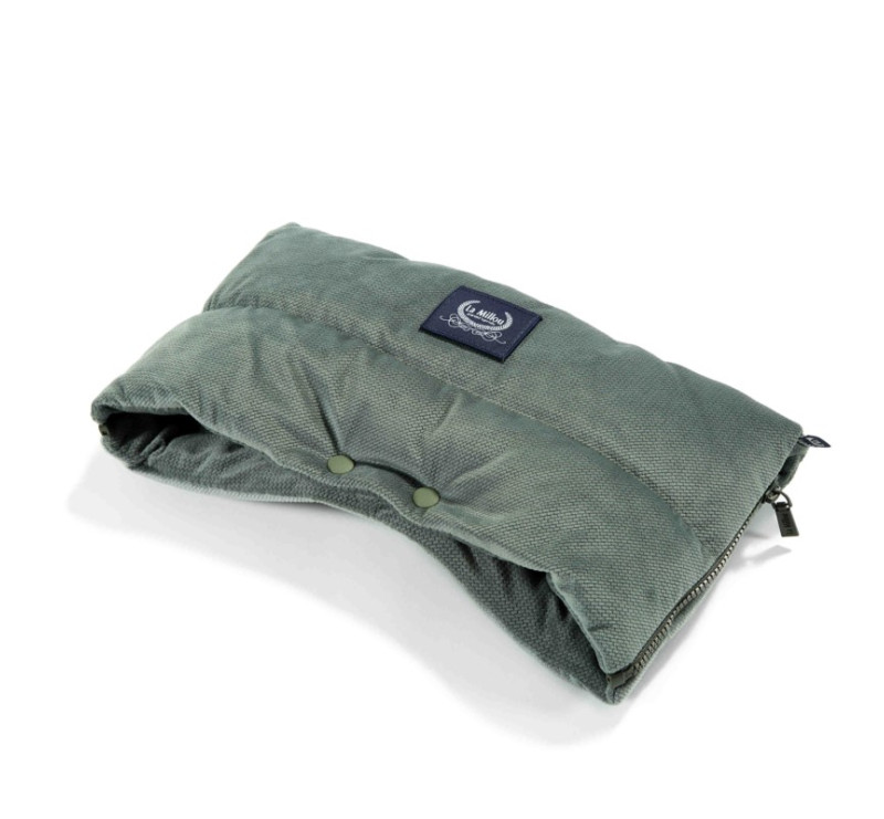 Mufka Premium - Khaki - Aspen Winterproof - La Millou - Velvet Collection