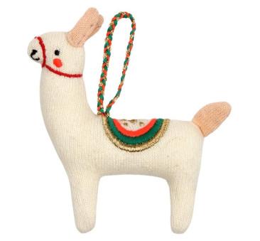 Zawieszka Choinkowa - Lama - Meri Meri
