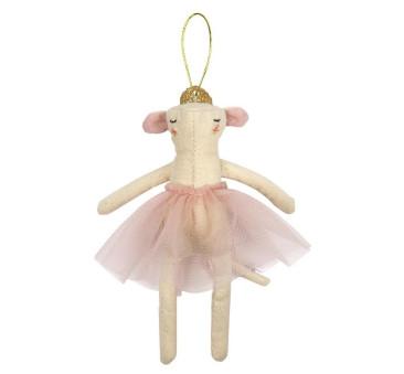 Zawieszka Choinkowa - Mysz Ballerina - Meri Meri