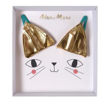 Spinki do włosów Kot - Meri Meri