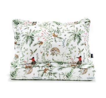 Komplet Pościeli XL z opaską do spania - Forest & Forest Blossom - La Millou