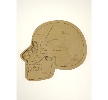 Puzzle drewniane - Urwanie Głowy - 32x43cm - Montessori - Stuka Puka