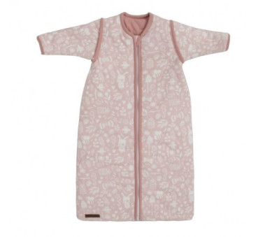 Śpiworek z odpinanymi rękawkami - Adventure Pink - 90 cm - Little Dutch