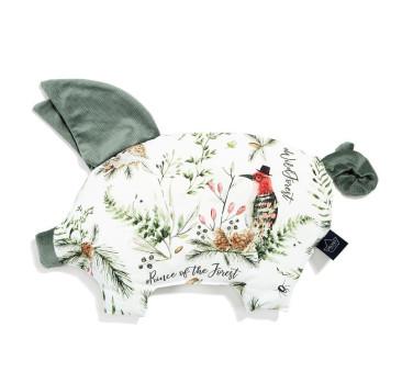 Podusia Sleepy Pig - Forest - Khaki - La Millou - Velvet Collection