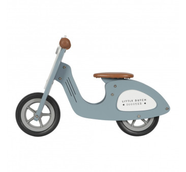 Rowerek biegowy - Niebieski- Little Dutch