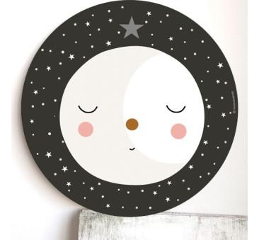Plakat MDF- Księżyc- Haciendo El Indio