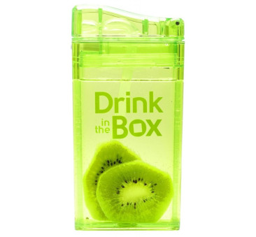Bidon Ze Słomką Green 235 ml zielony Drink In The Box