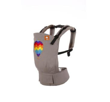TODDLER TULA - nosidełko z haftem - wzór Hot Air Balloon