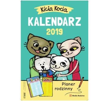 KICIA KOCIA - KALENDARZ 2019 - MEDIA RODZINA