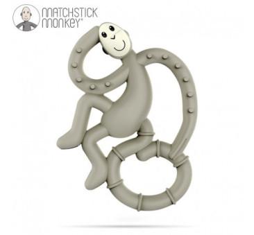 Gryzak Dentystyczny Małpka Mini - Grey - Matchstick Monkey
