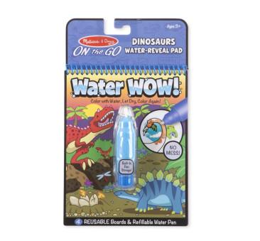 Dinozaury - Malowanie Wodą - Water Wow! - Znikające Kolory - Kolorowanka Wodna - Melissa & Doug