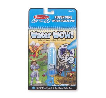 Przygody - Malowanie Wodą - Water Wow! - Znikające Kolory - Kolorowanka Wodna - Melissa & Doug