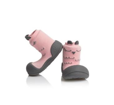 Cutie Pink/Różowe - rozmiar S/19 - Attipas - buty/skarpetki/papcie