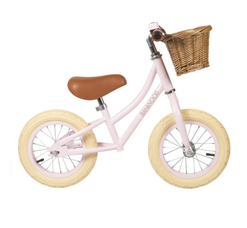 Rowerek biegowy - Pink/Różowy - First Go - Banwood