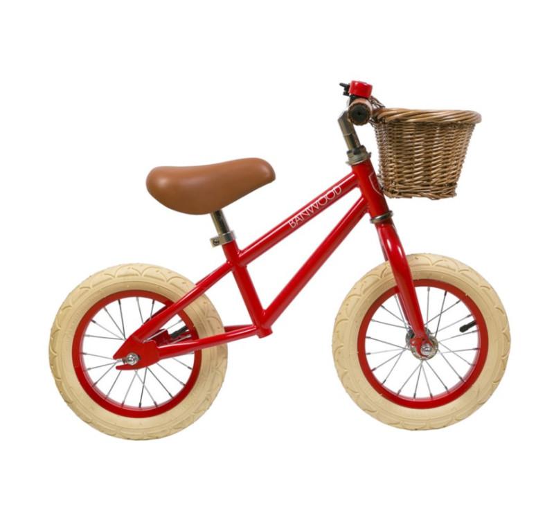 Rowerek biegowy - Red/Czerwony - First Go - Banwood