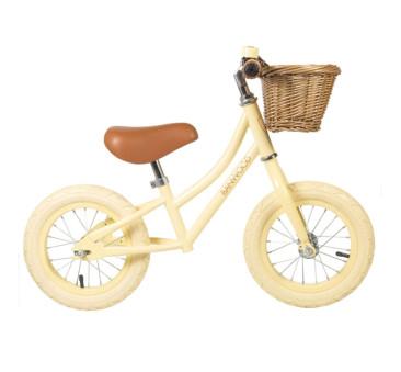 Rowerek biegowy - Vanilla/Waniliowy - First Go - Banwood